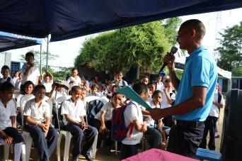 Speeches from teachers